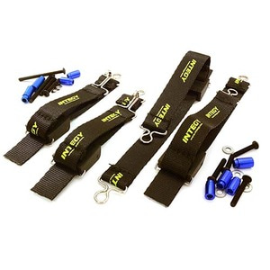 하비몬Suspension Travel Limiter Straps for Traxxas X-Maxx 4X4 (Blue)[상품코드]INTEGY