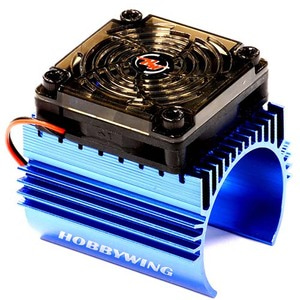 하비몬Cooling Fan w/ Alloy Heatsink Enclosure for 44mm O.D. Motor (L=60mm)[상품코드]INTEGY