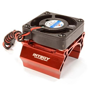 하비몬High Speed Cooling Fan+Heatsink Mount for 36mm O.D. Motor (Red)[상품코드]INTEGY