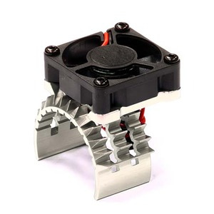 하비몬T2 Motor Heatsink w/ Cooling Fan for Traxxas 1/10 Stampede 4X4 & Slash 4X4 (Silver)[상품코드]INTEGY