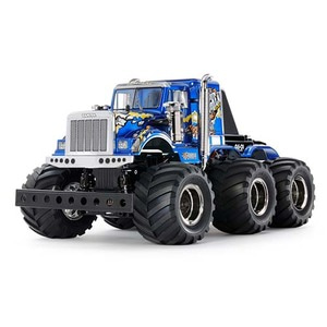 하비몬1/18 Konghead 6x6 Monster Truck Kit (G6-01)[상품코드]TAMIYA