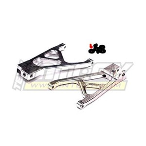 하비몬Alloy Rear Lower Arms for 1/16 Traxxas Slash VXL & Rally (Silver)[상품코드]INTEGY