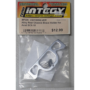 하비몬Alloy Rear Chassis Brace Holder for Axial SCX-10 (Silver)[상품코드]INTEGY