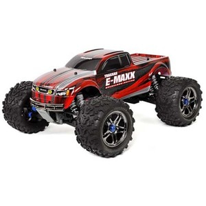 하비몬1/10 E-Maxx Brushless TSM TQi 4WD RTR (Red)[상품코드]TRAXXAS