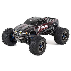 하비몬1/10 E-Maxx Brushless TSM TQi 4WD RTR (Black)[상품코드]TRAXXAS