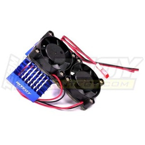 하비몬Super Motor Heatsink+Twin Cooling Fan 750 for Traxxas Summit (Blue)[상품코드]INTEGY