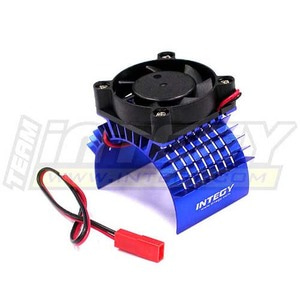 하비몬Super Motor Heatsink+Cooling Fan 750 for Traxxas Summit (Blue)[상품코드]INTEGY