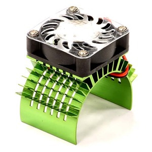 하비몬Super Motor Heatsink+Cooling Fan 750 for Traxxas Summit (Green)[상품코드]INTEGY
