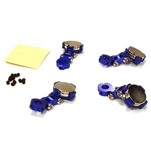 하비몬Billet Machined T2 Adjustable Stealth Body Mount Set for 1/10 Drift Touring Car (Blue)[상품코드]INTEGY