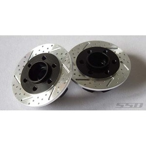 하비몬6mm Offset Wheel Hub with Brake Rotor Fit Traxxas TRX-4 Axle [상품코드]SSD