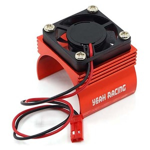 하비몬Aluminum 540 Motor Heat Sink w/ Cooling Fan Red[상품코드]YEAH RACING