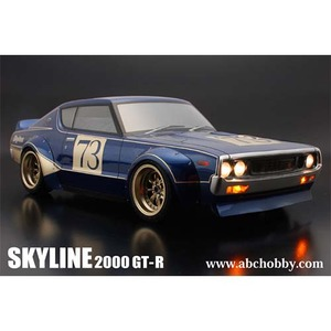 하비몬NISSAN Skyline 2000GT-R KENMERI 200mm Body Set Racing Fender Ver. For 1/10 RC Touring Drift[상품코드]ABC HOBBY