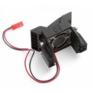 하비몬3D PLA ESC Heat Sink Black w/ Cooling Fan For TRAXXAS TRX-4 [상품코드]GRC