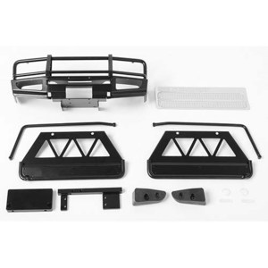 하비몬Trifecta Front Bumper, Sliders and Side Bars for Land Cruiser LC70 Body (Black)[상품코드]CCHAND