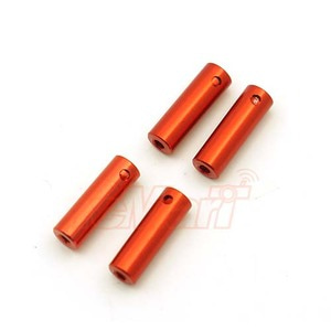 하비몬Al. Damper Replacement Part 4 pcs Orange For Orlandoo OH35P01 OH35A01[상품코드]XTRA SPEED