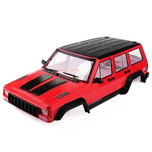 하비몬Cherokee XJ ABS Hard Plastic Body Kit 313mm w/Interior Kit Red For Axial RC4WD[상품코드]XTRA SPEED