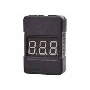 하비몬1~8S LIPO Voltage Tester Hard Case/Low Voltage Buzzer Alarm(리포 알람/전압 확인)[상품코드]RCMON