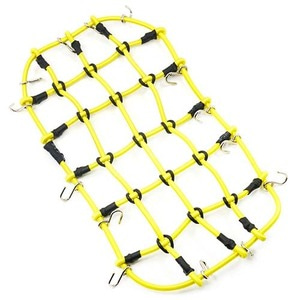 하비몬1/10 RC Crawler Scale Accessory Luggage Net 200mm x 110mm Yellow[상품코드]YEAH RACING