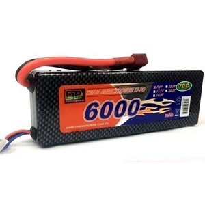 하비몬7.4V 6000mAh 70-130C Hard Case Lipo Battery (딘스잭)[상품코드]EP POWER