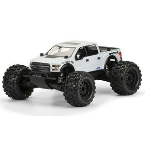 하비몬1/10 PRO-MT 2017 Ford F-150 Raptor Clear Body[상품코드]PRO-LINE RACING