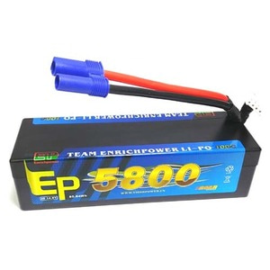 하비몬14.8V 5800mAh 100C~180C Hard Case Lipo Battery (EC5잭)[상품코드]EP POWER
