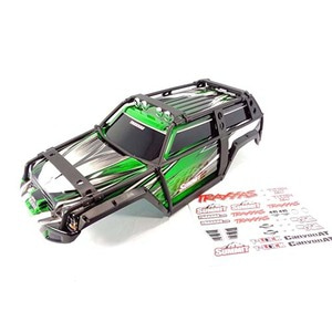 하비몬1/10 Summit Painted Body Shell w/ExoCage & Decal Sheet (Green)[상품코드]TRAXXAS