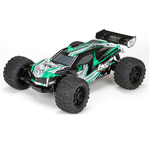 하비몬1/10 TEN-MT RTR 4WD Brushless Monster Truck (AVC 자이로) (Black/Green)[상품코드]TEAM LOSI