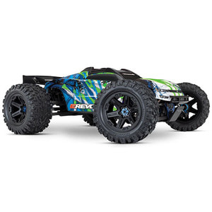 하비몬1/10 E-Revo 6S VXL 2.0 Brushless 4WD RTR (Green)[상품코드]TRAXXAS
