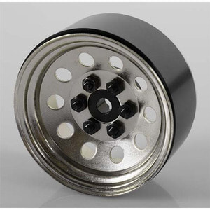 하비몬[4개 한대분] Pro10 1.9 Steel Stamped Beadlock Wheel (Silver)[상품코드]RC4WD