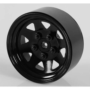 "하비몬[4개 한대분] 5 Lug Wagon 1.9"" Steel Stamped Beadlock Wheels (Black)[상품코드]RC4WD"
