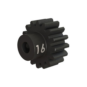 하비몬16T 32P Hardened Steel Machined Heavy Duty Pinion Gear w/3mm Bore[상품코드]TRAXXAS