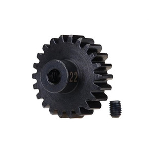 하비몬22T 32P Hardened Steel Machined Heavy Duty Pinion Gear w/3mm Bore[상품코드]TRAXXAS