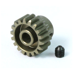 하비몬Alu. 7075 Hard Coated Pinion Gear 06P 18T (Mod 0.6)[상품코드]YEAH RACING