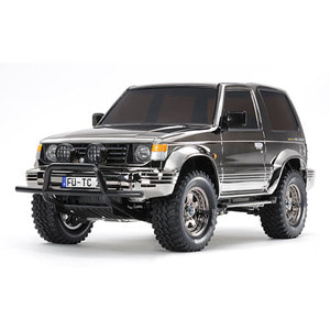 하비몬1/10 Pajero Metaltop Wide 4WD Black Metallic (CC-01)[상품코드]TAMIYA