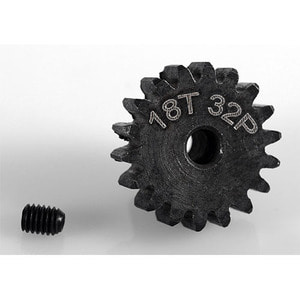 하비몬18t 32p Hardened Steel Pinion Gear w/3mm Bore[상품코드]RC4WD