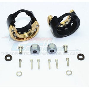 하비몬TRX-4 Alum. Pendulum Wheel Knuckle Axle Weight w/Brass Lid +9mm Hex Adapter[상품코드]GPM
