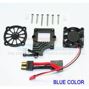 하비몬TRX-4 Alum. Easy Switch w/Motor Cooling Fan (★Blue)[상품코드]GPM