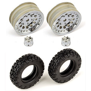 하비몬Scale Tire Set (2Pcs)[상품코드]THUNDER TIGER