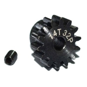 하비몬14t 32p Hardened Steel Pinion Gear w/3mm Bore[상품코드]RC4WD