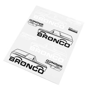 하비몬Body Decals for Traxxas TRX-4 '79 Bronco Ranger XLT (Style B)[상품코드]CCHAND