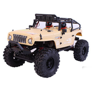 하비몬1/10 Jeep Rock Rocket V2 - 2018 (Military Yellow)[상품코드]CASTER RACING