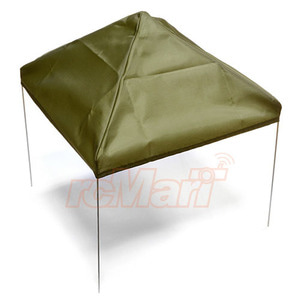 하비몬1/10 Scale Fabric Canopy Pit Tent Green For RC Car[상품코드]XTRA SPEED