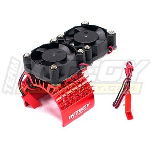 하비몬Super Motor Heatsink+Twin Cooling Fan 540/550 (Red)[상품코드]INTEGY