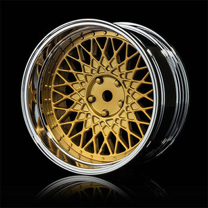 하비몬[4개 한대분] GD-S 501 Offset Changeable Wheel Set - Gold[상품코드]MST