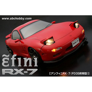 하비몬1/10 Mazda efini RX-7 FD3S Early Ver 196mm Clear Body Set For RC Touring Drift[상품코드]ABC HOBBY