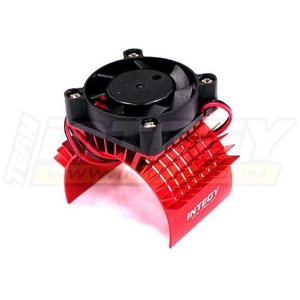하비몬Super Motor Heatsink+Cooling Fan 750 for Traxxas Summit (Red)[상품코드]INTEGY