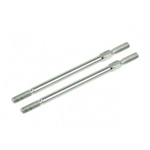 하비몬[#3RAC-TR358] 64 Titanium 3x58mm Turnbuckle 2 pcs Silver[상품코드]3RACING