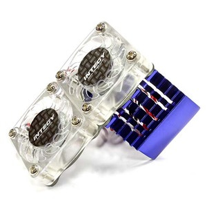 하비몬Super Motor Heatsink+Twin Cooling Fan 540/550 (Blue)[상품코드]INTEGY