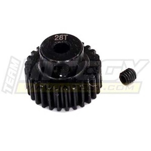 하비몬28T Steel Pinion Gear for 1/16 Traxxas E-Revo, Slash, Summit, Rally[상품코드]INTEGY