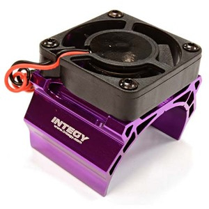 하비몬High Speed Cooling Fan+Heatsink Mount for 42mm O.D. Motor (Purple)[상품코드]INTEGY